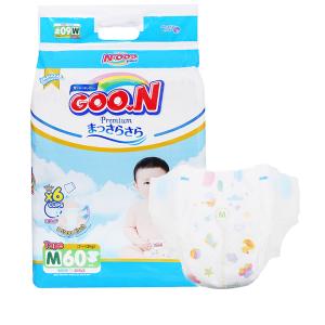 Tã dán Goo.n Premium size M 60 miếng (cho bé 7 - 12kg)