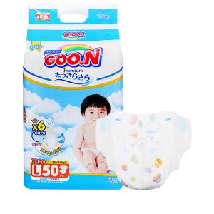 Tã dán Goo.n Premium size L 50 miếng (cho bé 9 - 14kg)