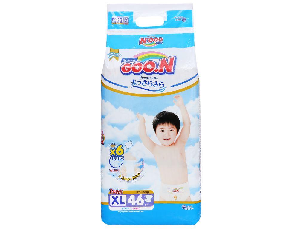 Tã dán Goo.n Premium size XL 46 miếng (cho bé 12 - 20kg) 2