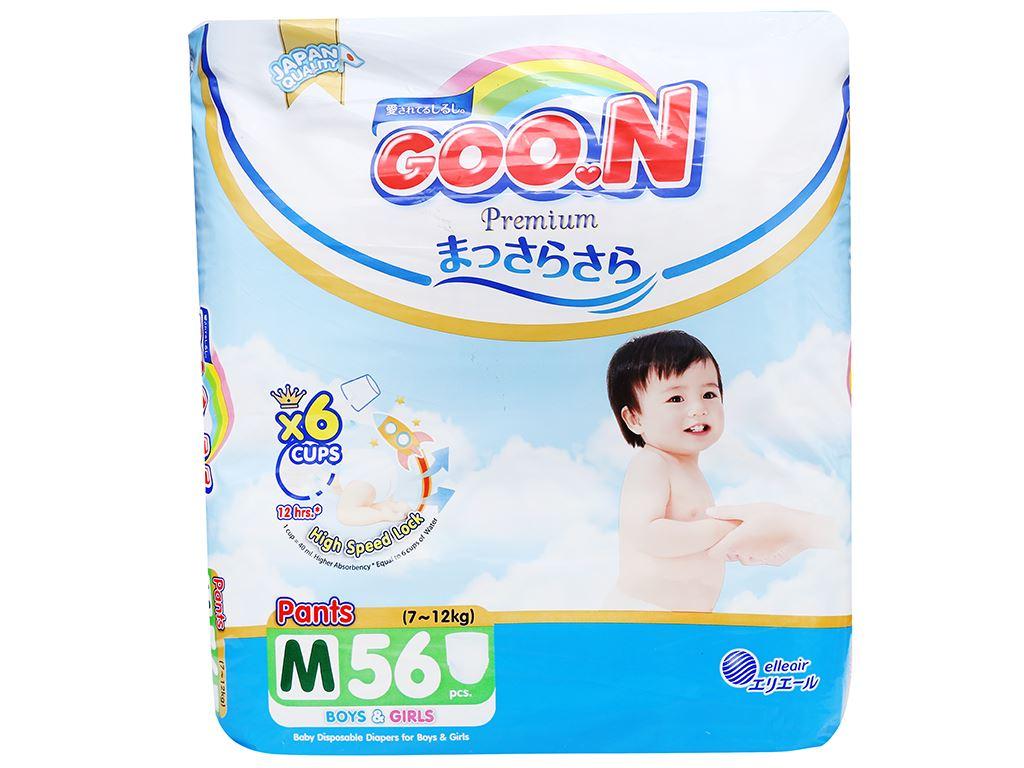 Tã quần Goo.n Premium size M 56 miếng (cho bé 7 - 12kg) 2