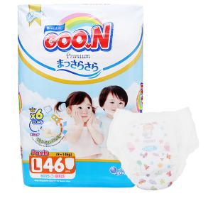 Tã quần Goo.n Premium size L 46 miếng (cho bé 9 - 14kg)