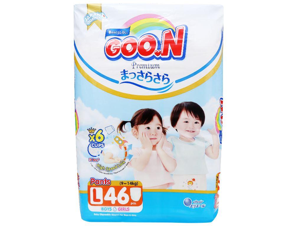 Tã quần Goo.n Premium size L 46 miếng (cho bé 9 - 14kg) 2