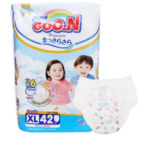 Tã quần Goo.n Premium size XL 42 miếng (cho bé 12 - 17kg)