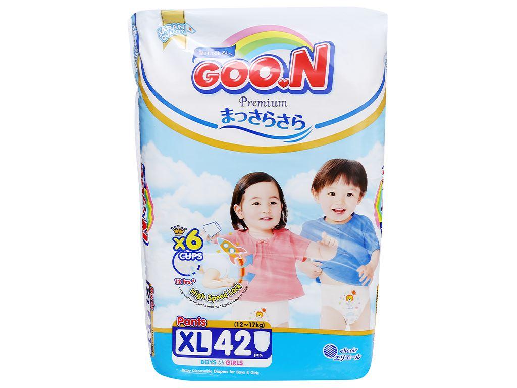 Tã quần Goo.n Premium size XL 42 miếng (cho bé 12 - 17kg) 2