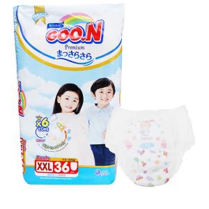 Tã quần Goo.n Premium size XXL 36 miếng (cho bé 15 - 25kg)