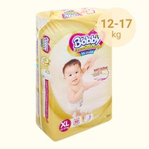 Tã quần Bobby Extra Soft Dry size XL 50 miếng (cho bé 12 - 17kg)