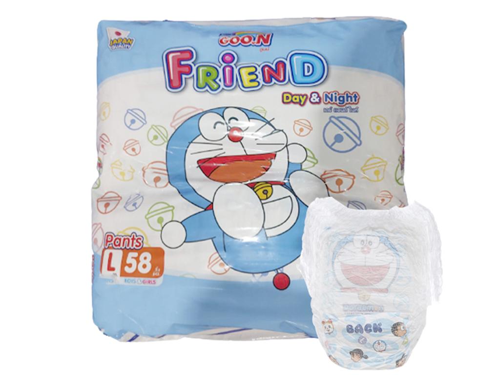 Tã quần Goo.n Friend size L 60 miếng (cho bé 9 - 14kg) 1