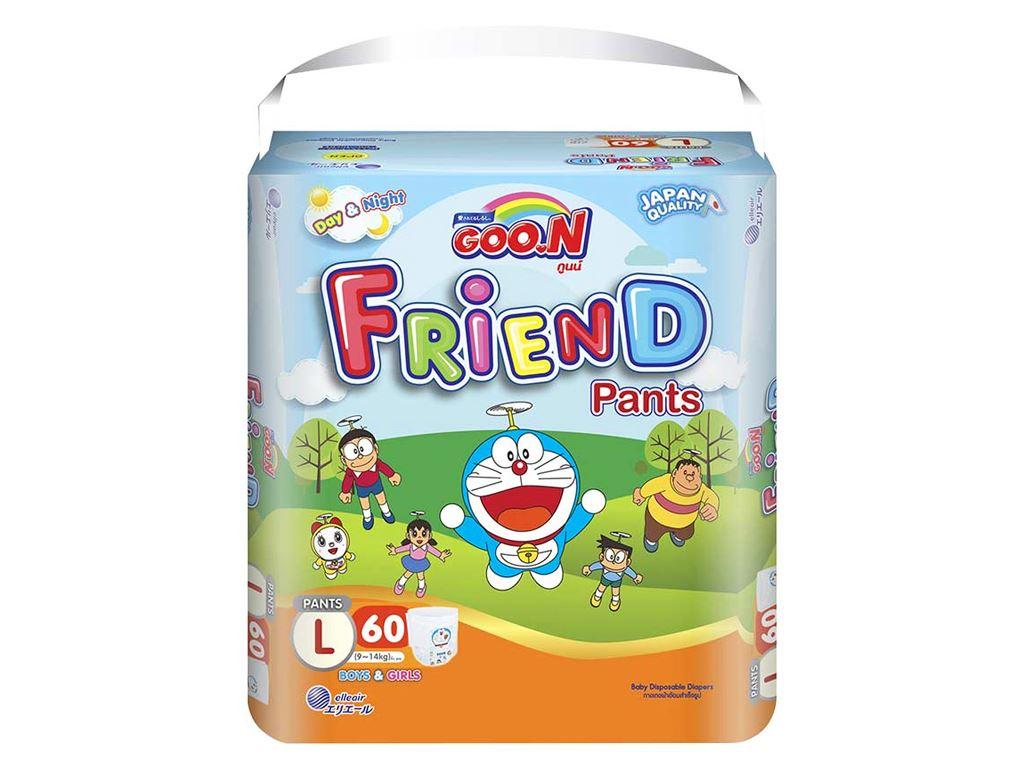 Tã quần Goo.n Friend size L 60 miếng (cho bé 9 - 14kg) 2