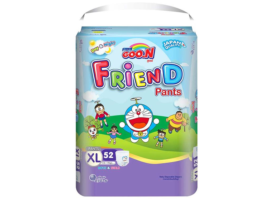 Tã quần Goo.n Friend size XL 52 miếng (cho bé 12 - 17kg) 2