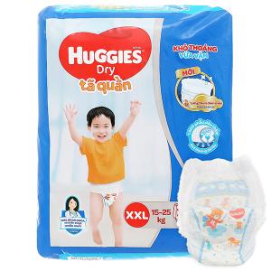 Tã quần Huggies size XXL 30 miếng (cho bé 15 - 25kg)