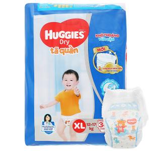 Tã quần Huggies size XL 34 miếng (cho bé 12 - 17kg)
