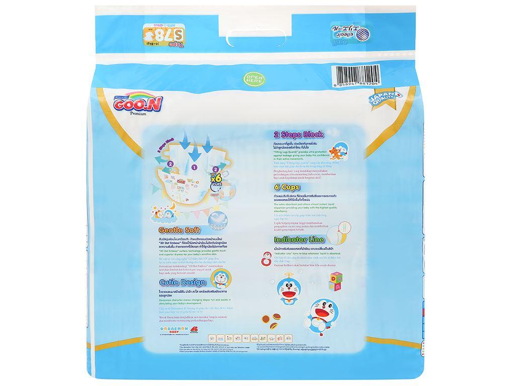 Tã dán Goo.n Premium size S 78 miếng (cho bé 4 - 8kg) 2