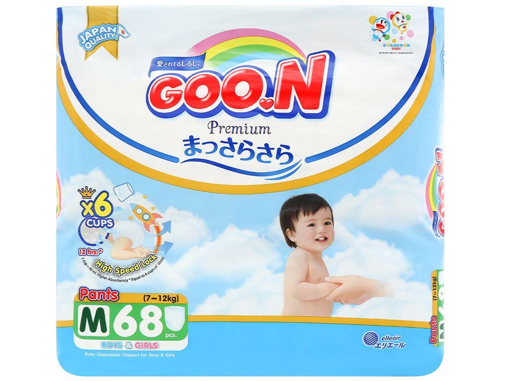 Tã quần Goo.n Premium size M 68 miếng (cho bé 7 - 12kg) 1