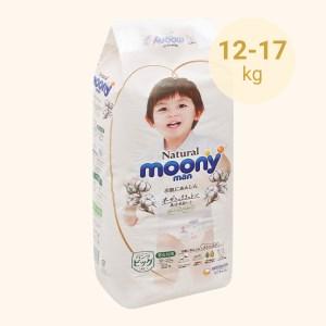 Tã quần Moony Natural man size XL 32 miếng (cho bé 12 - 22kg)