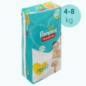 Tã quần Pampers size NB/S 52 miếng (cho bé 4 - 8kg)
