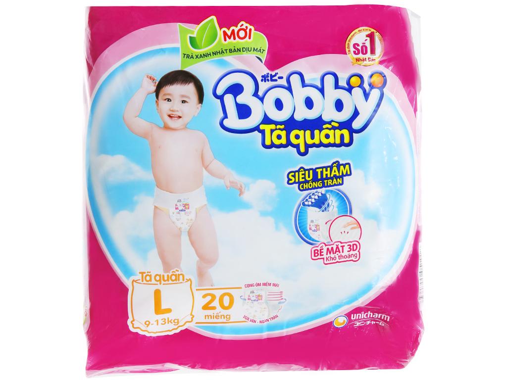Tã quần Bobby size L 20 miếng (cho bé 9 - 13kg) 2
