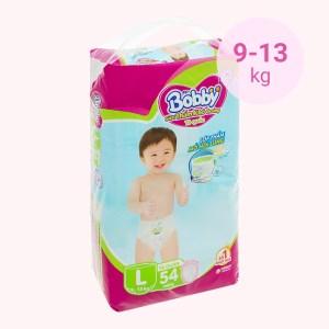 Tã quần Bobby size L 54 miếng (cho bé 9 - 13kg)