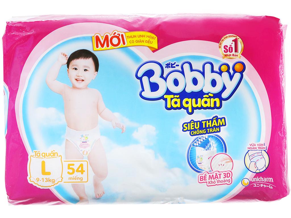 Tã quần Bobby Size L 54 miếng (cho bé 9 - 13kg) 2