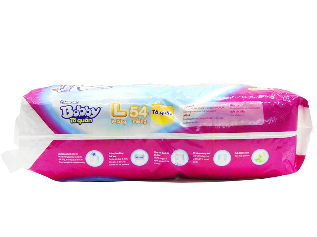 Tã quần Bobby Size L 54 miếng (cho bé 9 - 13kg) 3