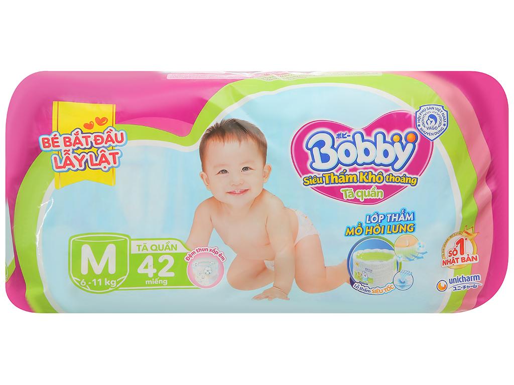 Tã quần Bobby size M 42 miếng (cho bé 6 - 11kg) 2