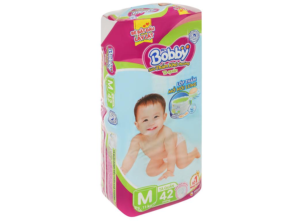 Tã quần Bobby size M 42 miếng (cho bé 6 - 11kg) 3