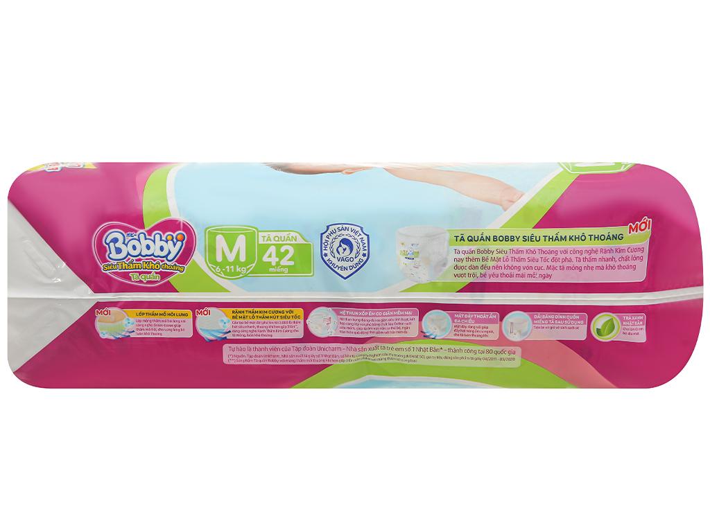Tã quần Bobby size M 42 miếng (cho bé 6 - 11kg) 5