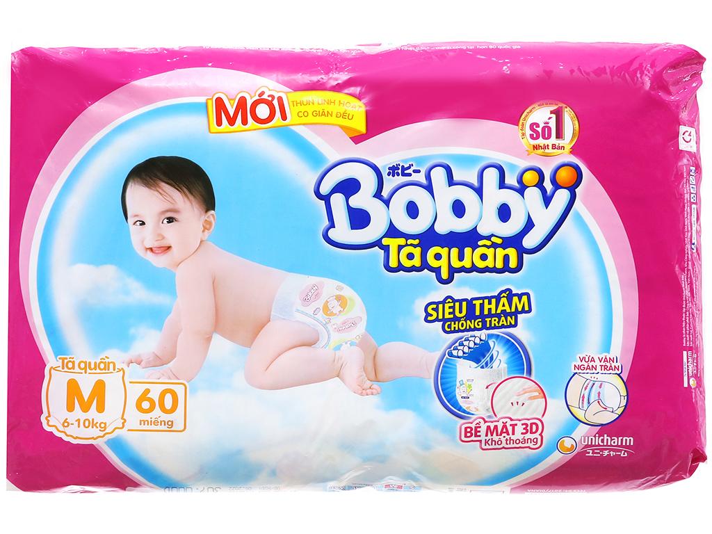 Tã quần Bobby size M 60 miếng (cho bé 6 - 10kg) 2