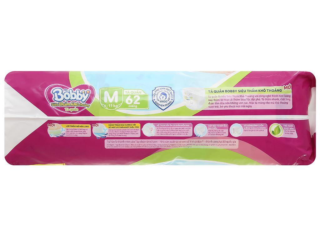 Tã quần Bobby size M 62 miếng (cho bé 6 - 10kg) 4