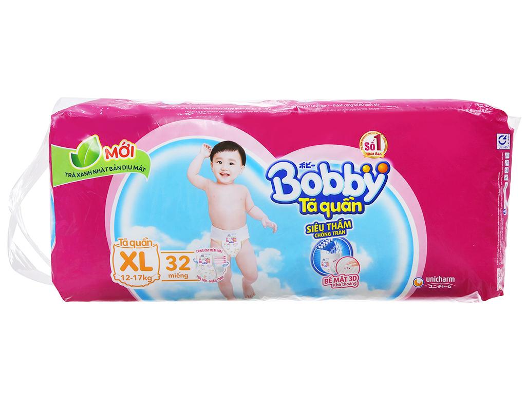 Tã quần Bobby size XL 32 miếng (cho bé 12 - 17kg) 2