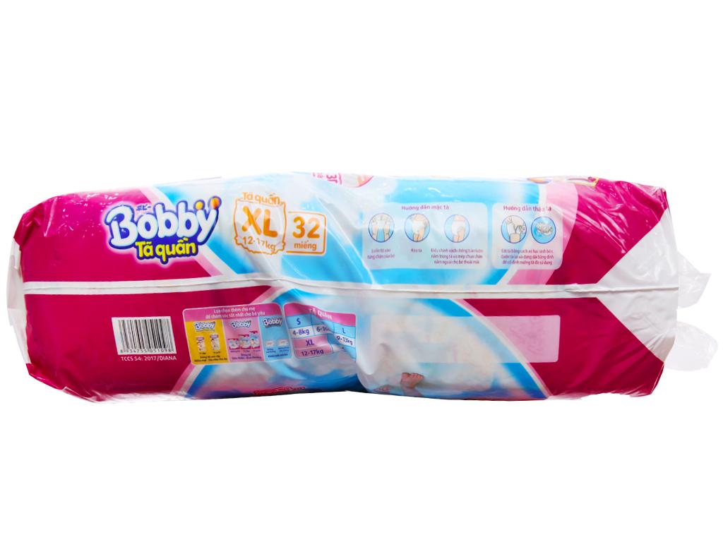 Tã quần Bobby size XL 32 miếng (cho bé 12 - 17kg) 3