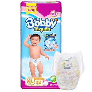Tã quần Bobby size XL 32 miếng (cho bé 12 - 17kg)
