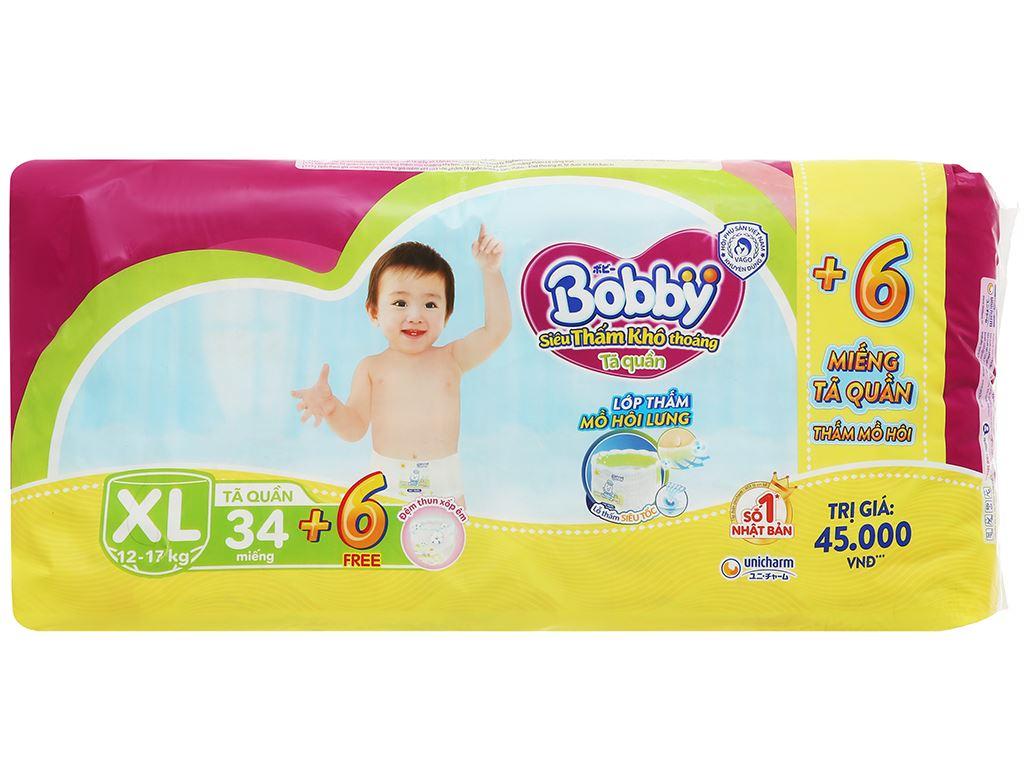 Tã quần Bobby size XL 34 miếng (cho bé 12 - 17kg) 2
