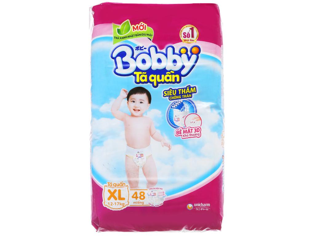 Tã quần Bobby size XL 48 miếng (cho bé 12 - 17kg) 1