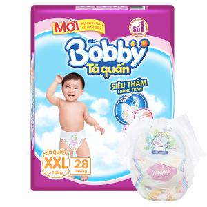 Tã quần Bobby size XXL 28 miếng (cho bé trên 16kg)
