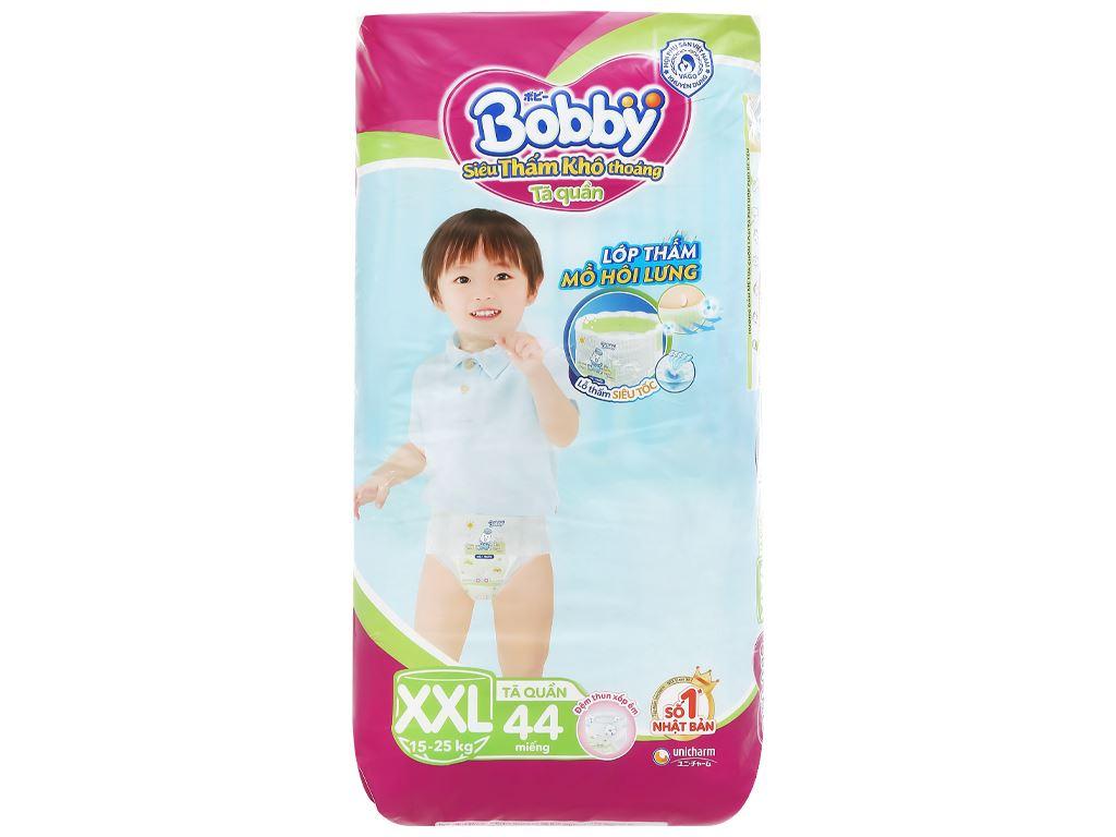 Tã quần Bobby size XXL 44 miếng (cho bé trên 16kg) 1