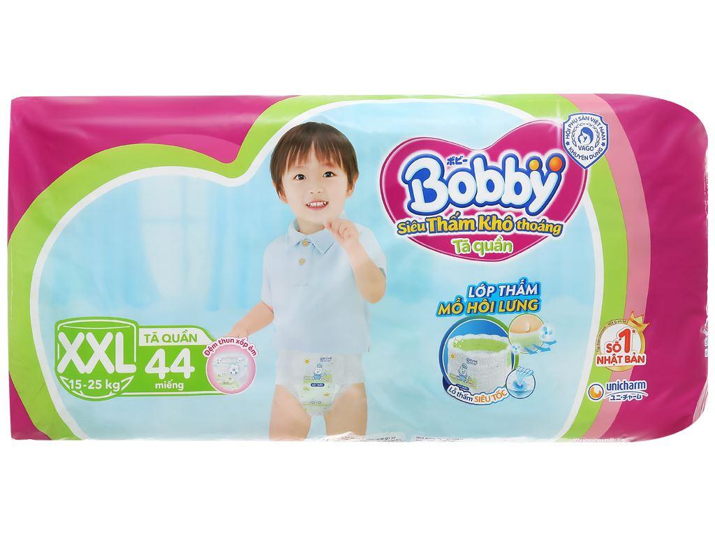 Tã quần Bobby size XXL 44 miếng (cho bé trên 16kg) 2