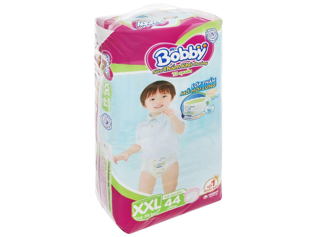 Tã quần Bobby size XXL 44 miếng (cho bé trên 16kg) 3