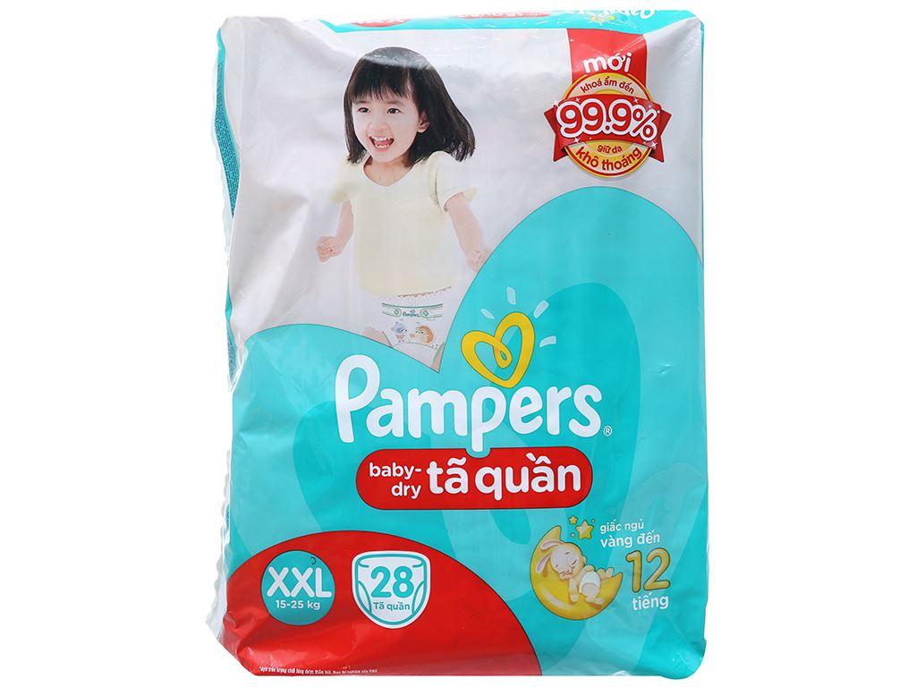 Tã quần Pampers Baby Dry size XXL 28 miếng (cho bé 15 - 25kg) 2