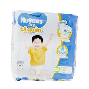 Tã quần Huggies size XXL 16 miếng (từ 15kg-25kg)