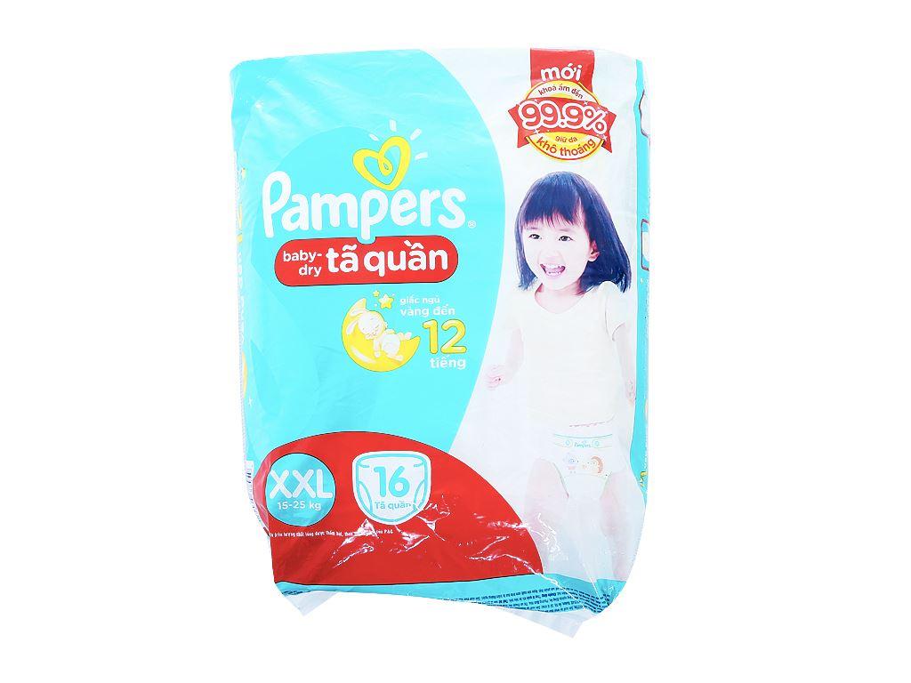 Tã quần Pampers Baby Dry Size XXL 16 miếng (cho bé 15 - 25kg) 1