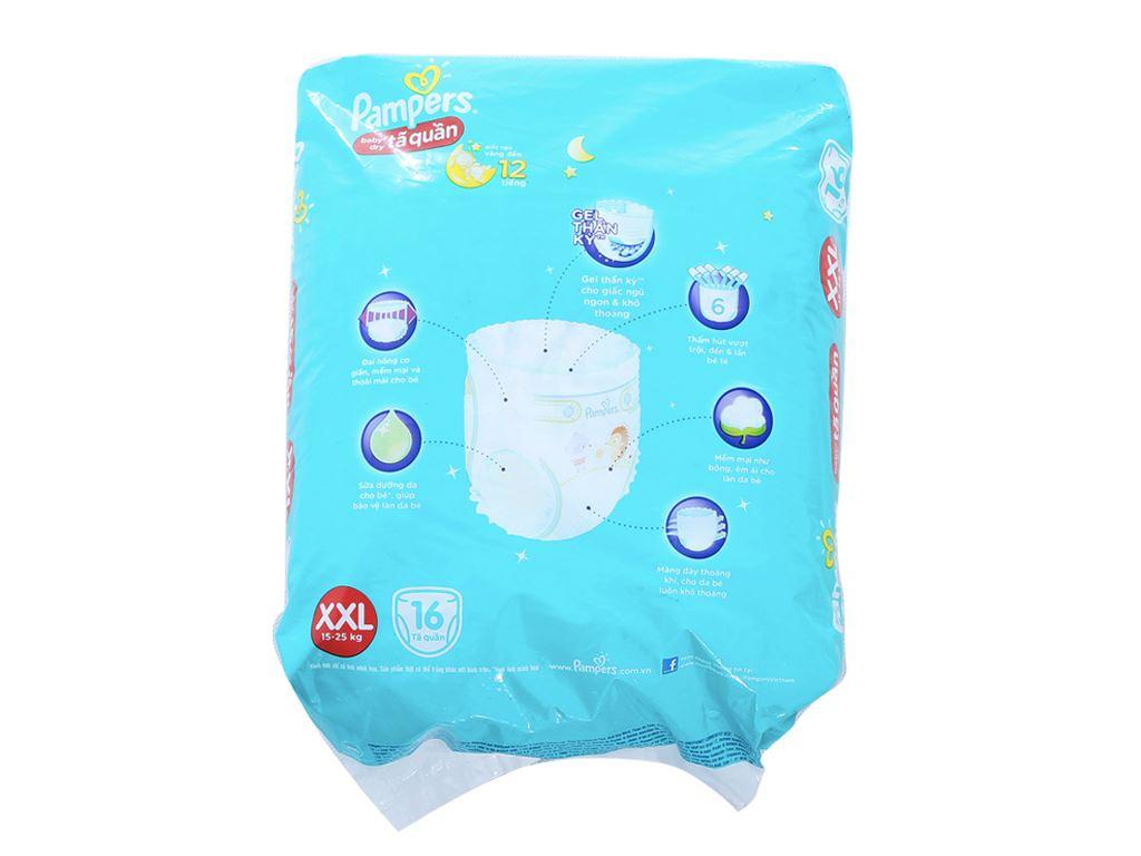 Tã quần Pampers Baby Dry Size XXL 16 miếng (cho bé 15 - 25kg) 2