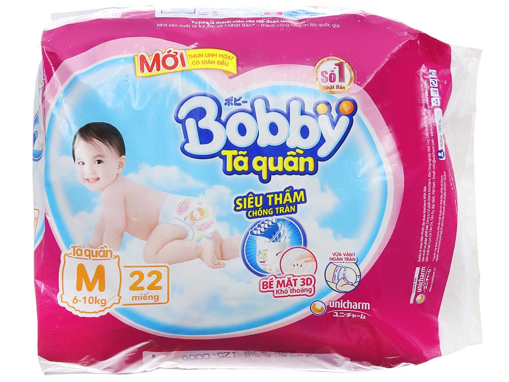 Tã quần Bobby size M 22 miếng (cho bé 6 - 10kg) 2