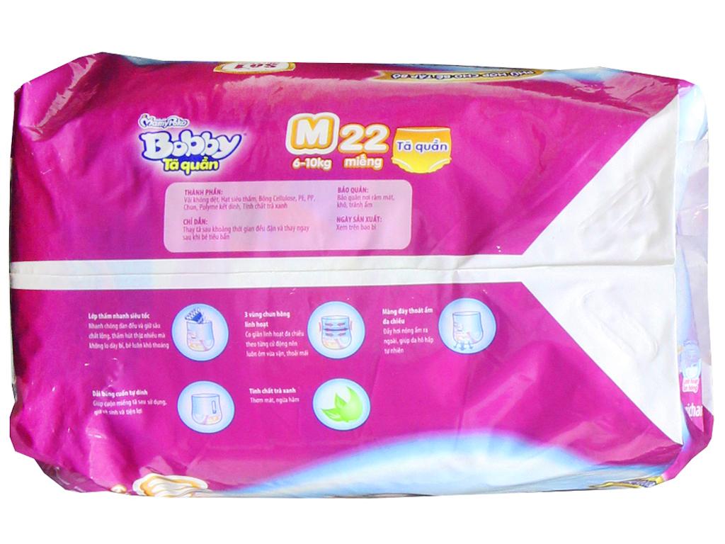 Tã quần Bobby size M 22 miếng (cho bé 6 - 10kg) 3