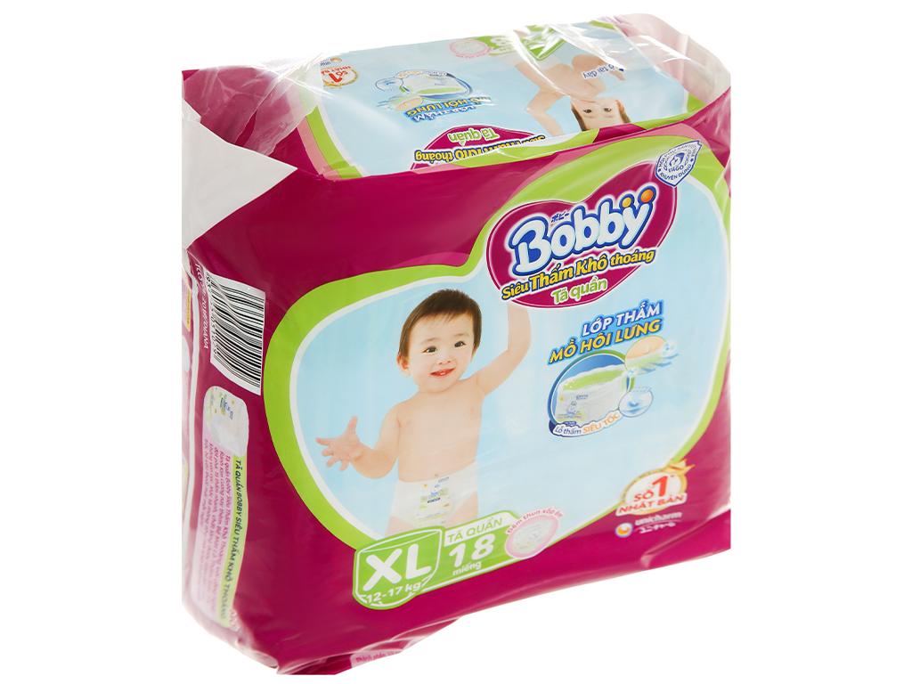 Tã quần Bobby size XL 18 miếng (cho bé 12 - 17kg) 3