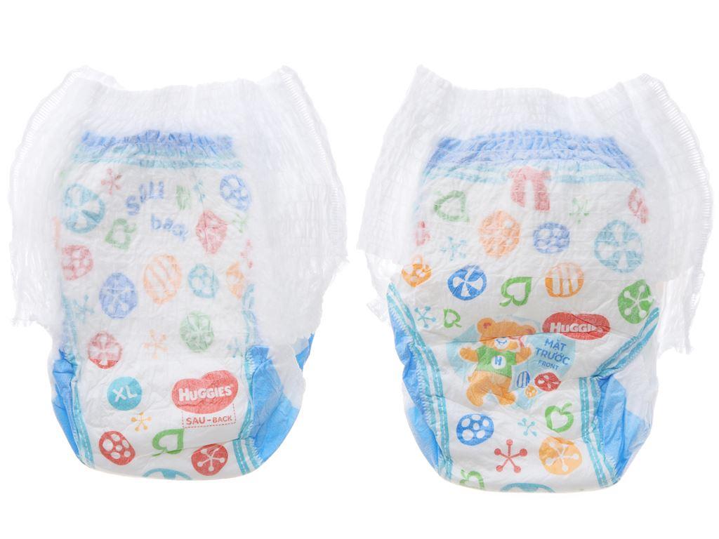 Tã quần Huggies Dry size XL 18 miếng (cho bé 12 - 17kg) 4
