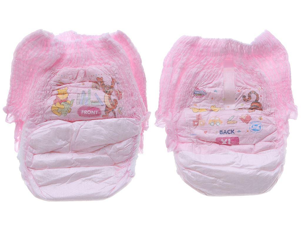 Tã quần Mamypoko Extra Dry Skin bé gái size XL 24 miếng (cho bé 12 - 17kg) 3