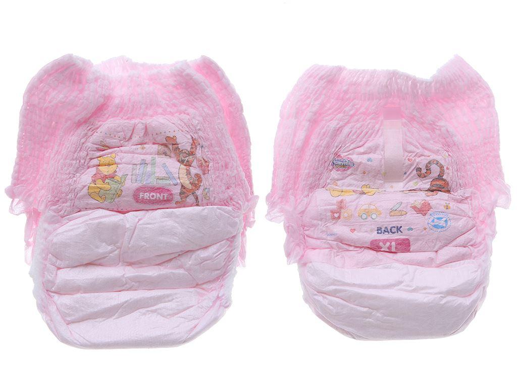 Tã quần Mamypoko Extra Dry Skin bé gái size XL 46 miếng (cho bé 12 - 17kg) 3
