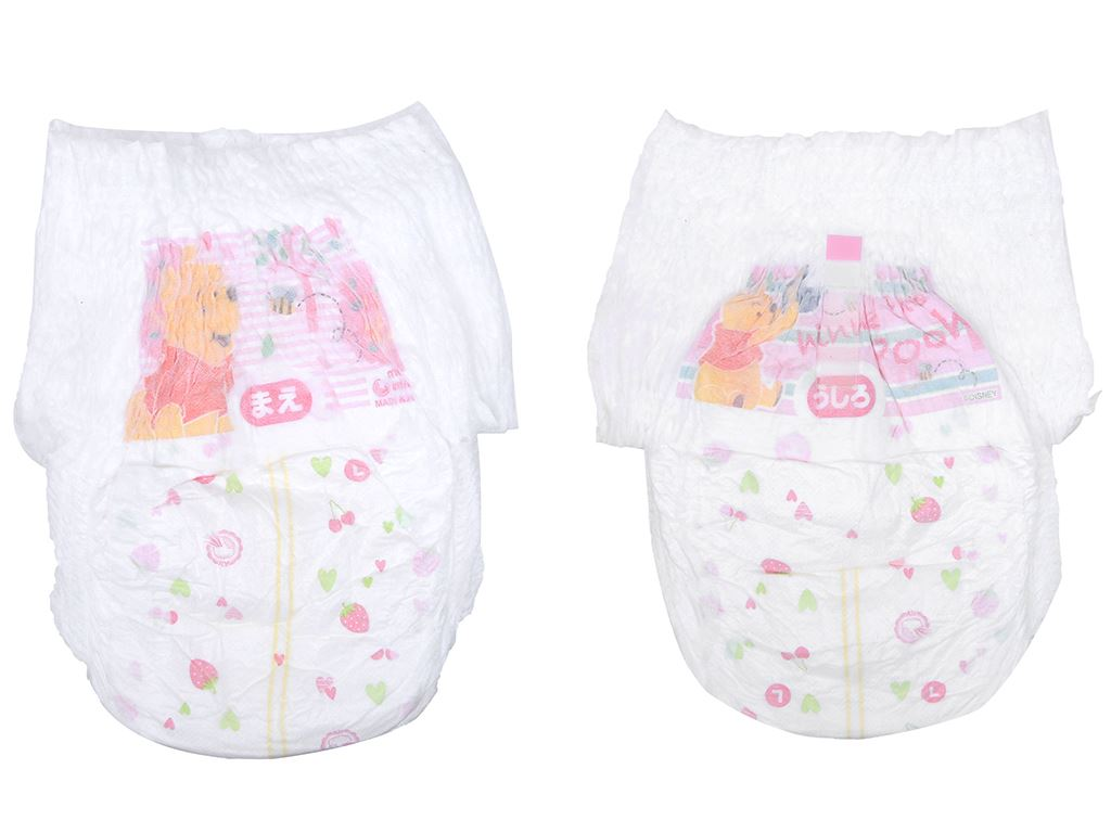 Tã quần Moony Man bé gái size L 44 miếng (cho bé 9 - 14kg) 9