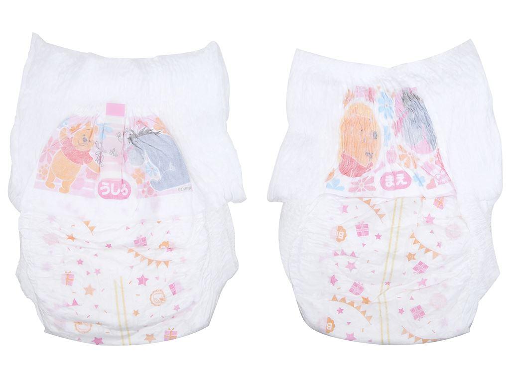 Tã quần Moony Man bé gái size XL 38 miếng (cho bé 12 - 17kg) 3