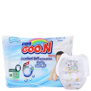 Tã quần Goon Excellent Soft Size M 7 - 12kg (32 miếng)